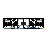 Рамки под номер с футбольными клубами (2 шт.)