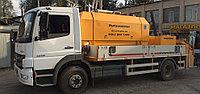 Услуги Стационарного бетононасоса (мобильный)