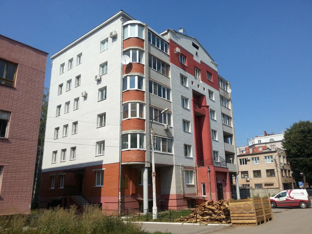 Утепление фасада многоэтажного дома в г. Рязань