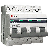 ВА 47-63, 4P  3А (C) EKF PROxima