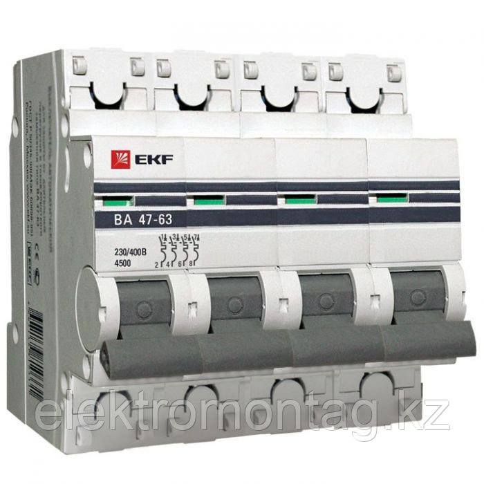 ВА 47-63, 4P 32А (C) EKF PROxima