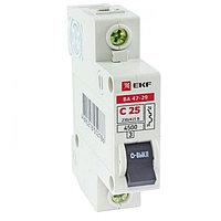 ВА 47-29, 1P  6А (C) EKF Basic
