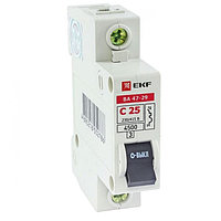 ВА 47-29, 1P 63А (C) EKF Basic