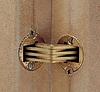 Шарнир для толщины 14 -19 мм латунь матов. ZYSA