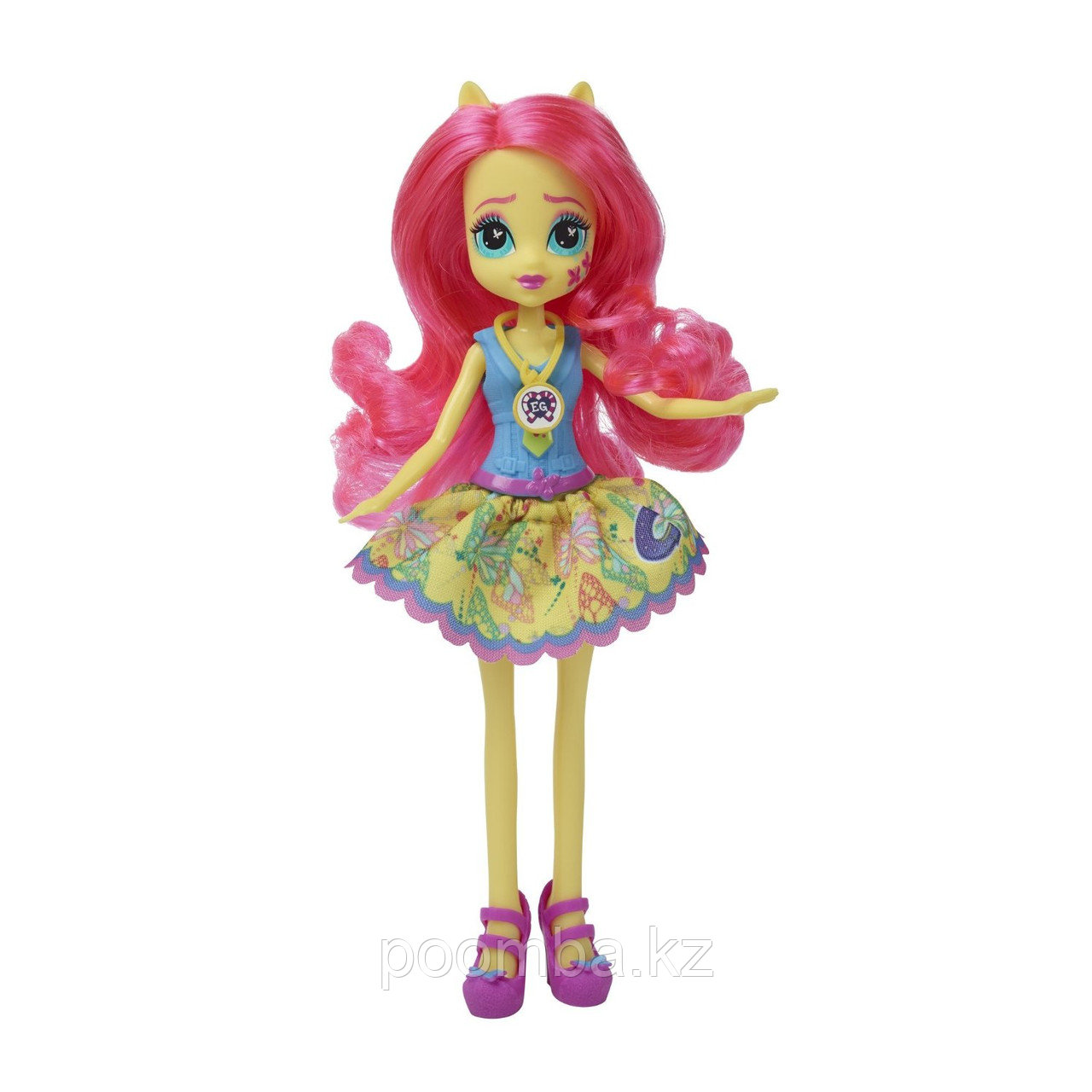 "Кукла ""Девушки Эквестрии"" School Spirit - Флаттершай"