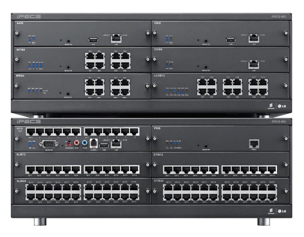 Гибридная IP АТС IPECS-MG 100 (до 200 портов)