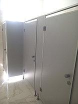 Туалетные перегородки в алюминиевом профиле, фото 2