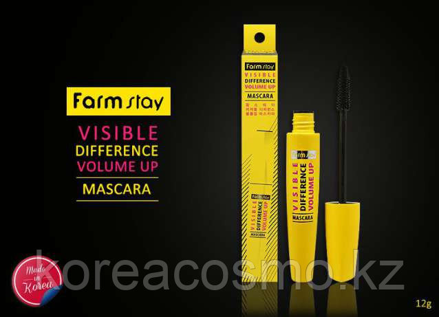Тушь для ресниц FarmStay Visible Difference Volume Up