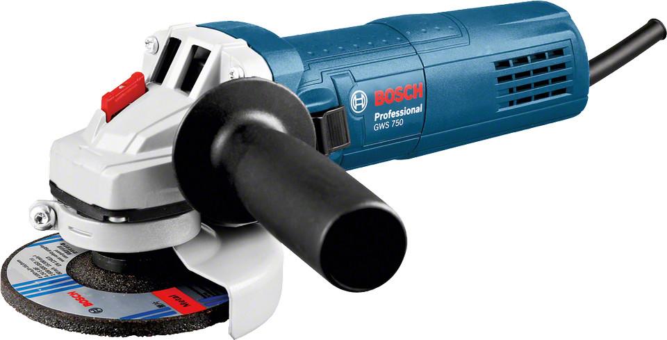 Угловая шлифмашина Bosch GWS 750-115 Professional (0601394000)