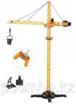 Игрушка башенный кран JCB на р/у (высота 120 см)