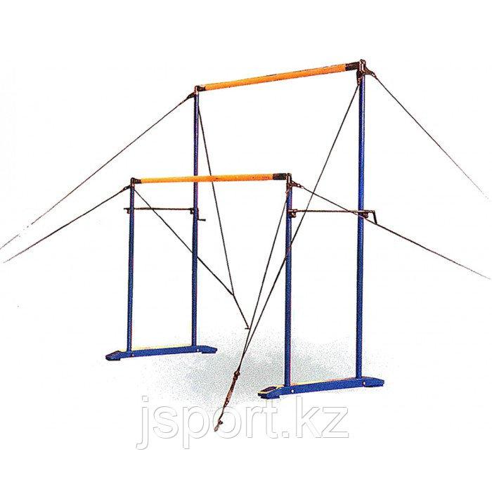Брусья гимнастические разновысокие (женские) на растяжках - фото 3