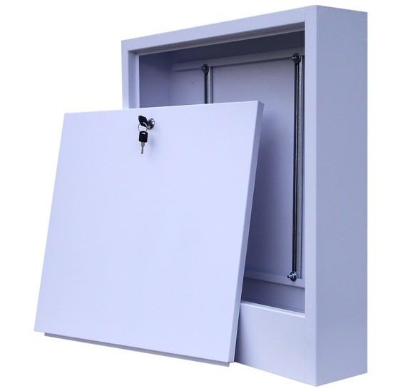 Шкаф для коллектора накладной 653*120*553 мм