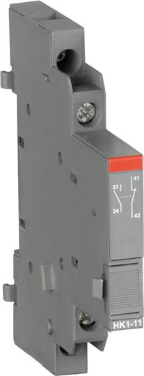 1SAM201902R1002 Контакт HK1-20 дополнительный боковой 2нз для MS116, MS132