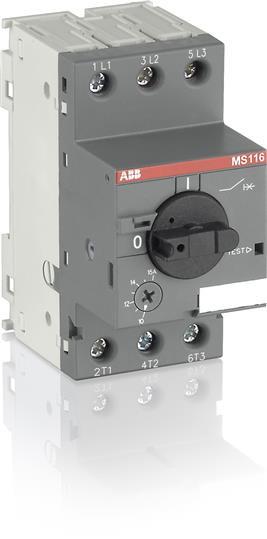 1SAM250000R1005 Автомат защиты двигателя MS116-1.0 50кА (0,63-1А)