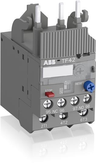 1SAZ721201R1038 Тепловое реле TF42-5.7 (4,2-5,7А) для контакторов AF09-AF38