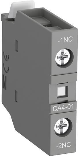 1SBN010110R1001 Контакт CA4-01 1НЗ фронтальный для контакторов AF09-AF38 и NF