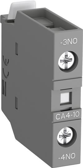 1SBN010110R1010 Контакт CA4-10 1НО фронтальный для контакторов AF09-AF38 и NF