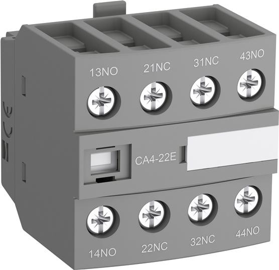 1SBN010140R1122 Блок контактный дополнительный CA4-22M (2НО+2НЗ) для контакторов AF09…AF38
