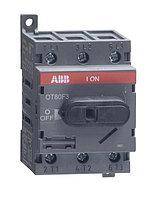 1SCA105798R1001 Рубильник OT80F3 80А 3х-полюсный (с резерв. ручкой)