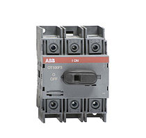 1SCA105004R1001 Рубильник OT100F3 до 100А 3х-полюсный для установки на DIN-рейку или монтажная плата (с