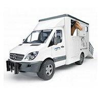 Игровой MB Sprinter фургон с лошадью Bruder (Брудер), фото 1
