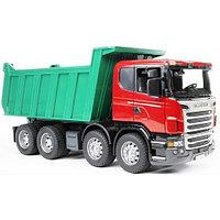 Игрушечный Самосвал Scania (подходит модуль со звуком и светом Bruder (Брудер), фото 1