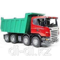 Игрушечный Самосвал Scania (подходит модуль со звуком и светом Bruder (Брудер)