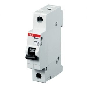 2CDS251001R0254 Автоматический выключатель ABB, S201 1P 25А (С) 6 kA