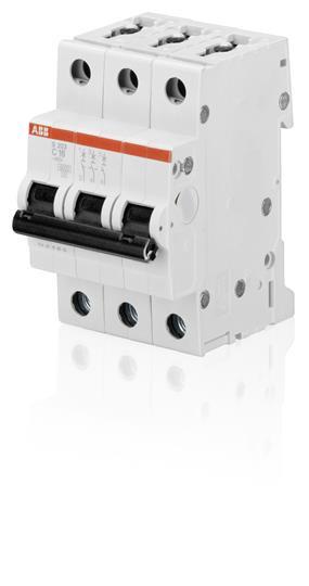 2CDS253001R0064 Автоматический выключатель ABB, S203 3P 6А (С) 4,5kA