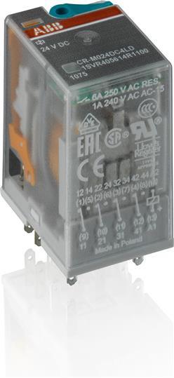 1SVR500160R0000 Реле времени CT-TGD.12 модульное (генератор импульсов) 24-48B DC, 24- 240B AC (7 временных
