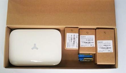 """Сигнализация GSM """"MAXKIN MK-X1"""" в упаковочной коробке"""