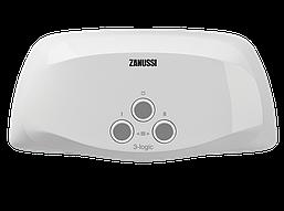 Водонагреватель проточный Zanussi 3-logic 5,5 T (кран)