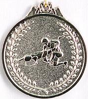 "Медаль рельефная ""БОРЬБА"" (серебро)"