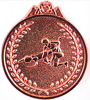 "Медаль рельефная ""БОРЬБА"" (бронза)"