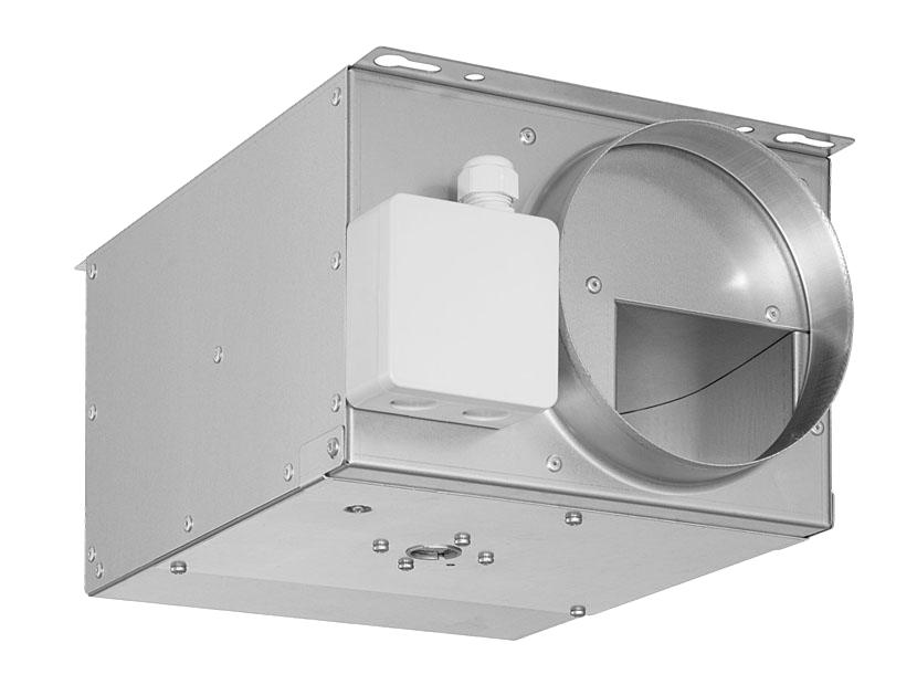 Компактный канальный вентилятор Shuft серии Compact, Compact 160