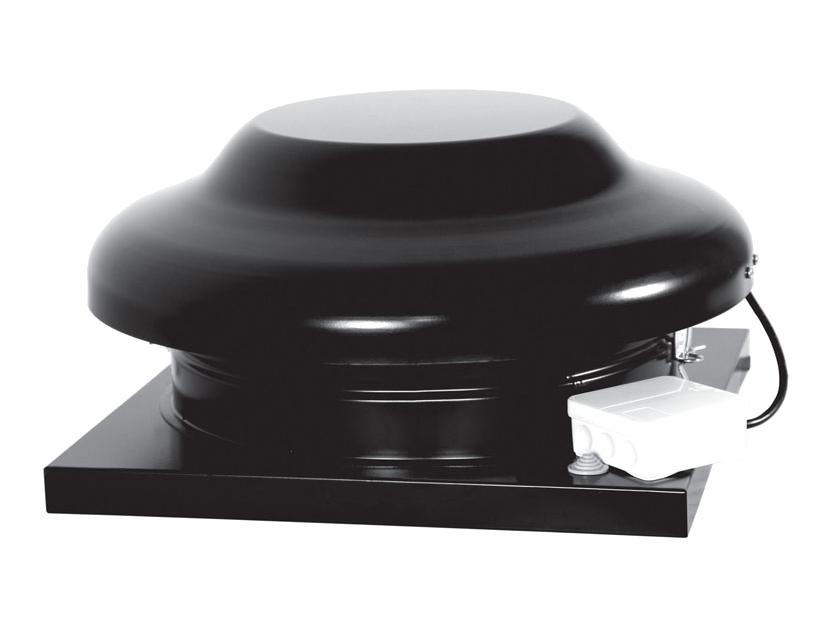 Крышный вентилятор SHUFT RMHE 230/400