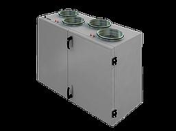 Компактная приточно-вытяжная установка с пластинчатым рекуператором SHUFT CAUP 450VEL-A