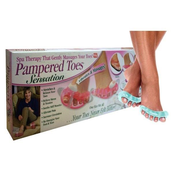 Массажер для пальцев ног Pampered Toes Sansation