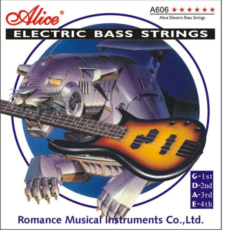 Струны для бас гитары Alice A606 (5 струн)
