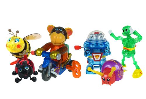 Заводные игрушки
