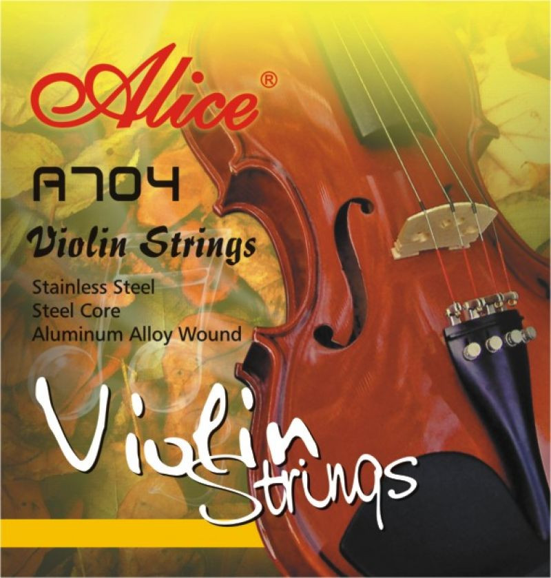 Струны для скрипки Alice A704
