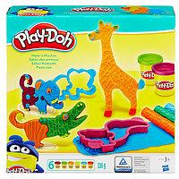 "PLAY-DOH B1168 Игровой набор пластилина ""Веселое Сафари"""