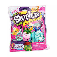 Shopkins 5 сезон Фольгированный пакетик с 1 героем