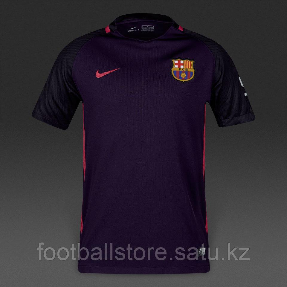 "Футболка FC Barcelona (Барселона) ""гостевая"", сезон 2016/17 replica"
