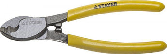 "(2332-16_z01) Кабелерез STAYER ""PROFI"" для цветных металлов (Cu + Al), кабель до d 9мм, 160мм"
