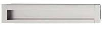 Мебельная ручка врезная, цинковое литье, цвет алюминий175x34 мм, фото 1