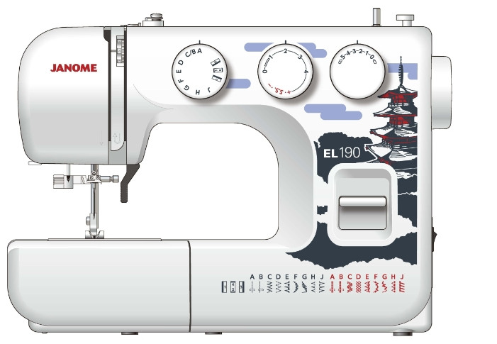 Швейная машина Janome EL190