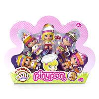 Pinypon Набор из пяти кукол Пинипон 'Веселые пирожные', ароматизированных, c аксессуарами, фото 1