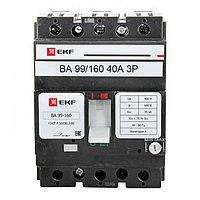 Автоматический выключатель ВА-99 160/40А 3P 35кА EKF PROxima