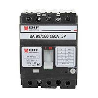 Автоматический выключатель ВА-99 160/50А 3P 35кА EKF PROxima